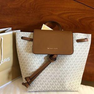 $268 Michael Kors JUNIE Backpack MK Bag